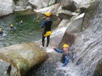 les dernières vasques du cayon du Tapoul