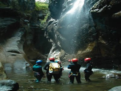 Rodeo Raft Canyoning