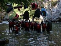 Parcours decouverte hydrospeed Aude
