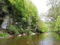 Admiration de la nature de l'Yonne