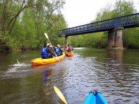 Activité de kayak à la Cure