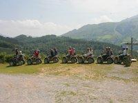 Randonnée en quad au Pays Basque