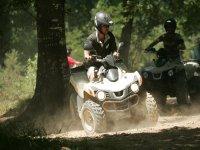 piloter un quad dans les Pyrenees Atlantiques