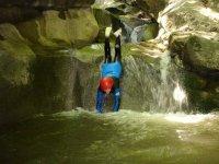 canyoning en Italie ou a Chamonix