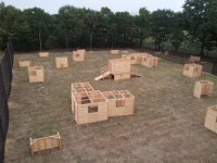 Terrain de paintball