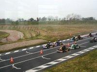 La course de karting dans le 50