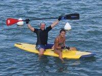 Bapteme de paddle surf