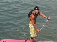 Sortie en paddle surf dans le 64
