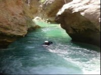 Nage dans le Peonera Inferior