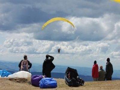 Vosges dans l'vent Parapente