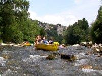 Canoe dans les gorges du tarn