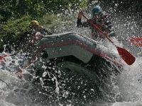 Descente de l Isere en Rafting avec Savoie Aventure