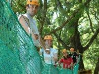 Parcours Aventure dans les arbres en Provence