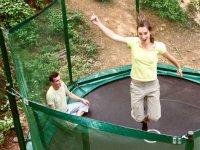 Trampolines du parc