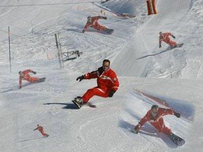 ESF Valfrejus Snowboard