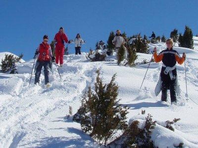 L'Office des Sports de Montagne Raquettes à Neige