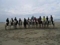 Aventure equestre en groupe