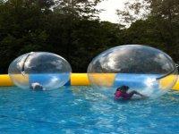 Les bulles sur l eau