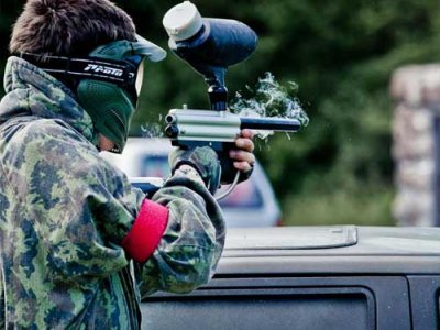 Paintball en Auvergne - 1000 billes - Adultes