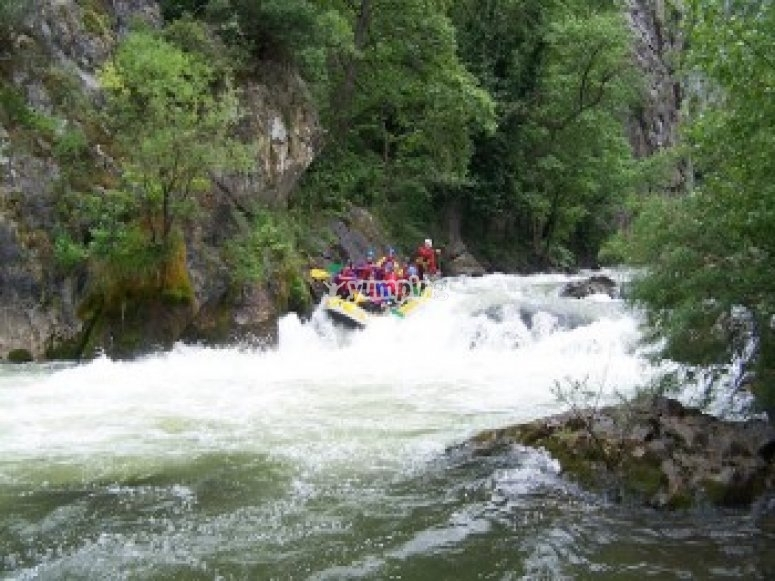 Rafting sur l Ariege