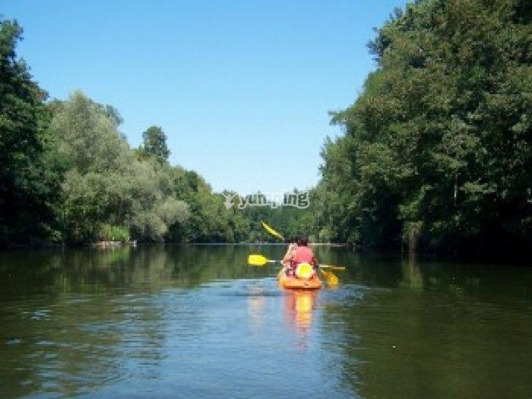 Canoe sur l Ariege