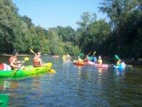 Sortie kayak entre amis sur l Ariege