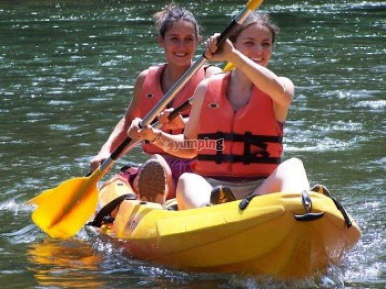 Sortie Kayak en famille sur l Ariege