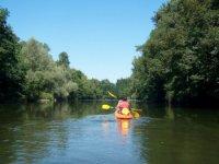 Sortie Canoe Enafant sur l Ariege