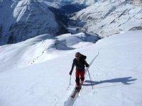 Randonnee a ski Barcelonette