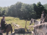 Nature a cheval