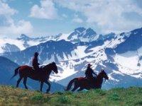 Sortie equestre au massif de Belledone
