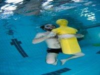 Formation plongee en piscine en Vendee
