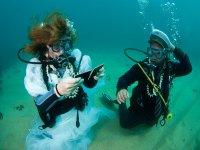 Mariage sous l eau