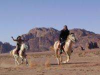 Voyage equestre en Jordanie