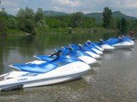 Jet Ski dans l Isere