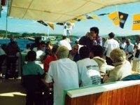 0rganisation d evenement sur le bateau