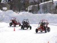 Buggy sur glace en Savoie