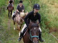 balade avec le centre equestre de Bourrou