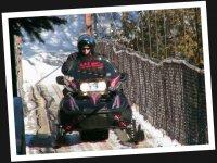 Aventure et motoneige avec 321 GO