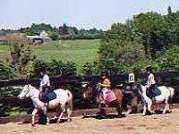 Balade avec le poney club en Dordogne