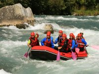 Parcours Rafting St Clement a Embrun