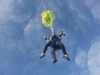 Ouverture du parachute