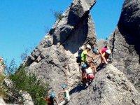 Sortie escalade falaise du Vercors