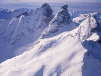 survol des Alpes en helicoptere