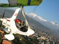 Survol des Hautes Alpes en ulm