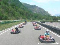 Course de Kart avec Jennif Air Karting