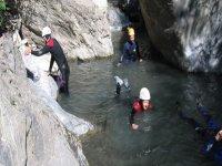 Descente du Canyon du Fournel