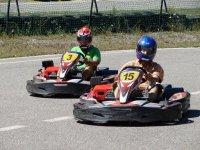 Karting a Embrun avec Jennif Air Karting