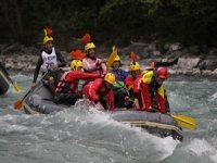 Rafting a travers la Durance avec Jennif Air Rafting