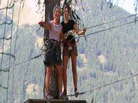 Sautez d arbre en arbre avec Jennif Air Parcours Aventure